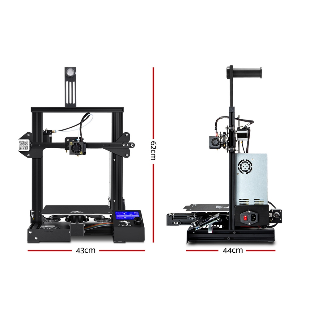 🥇 New Creality Ender 3 Pro 3D Printer Resume Printing High Precision 220*220*250mm ⭐+ Fast Free Shipping 🚀