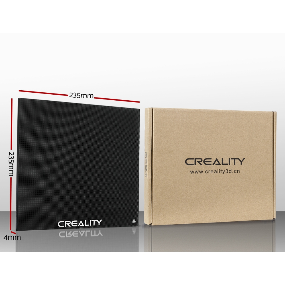 Brand New Creality 3D Printer Glass Heat Bed 235*235mm Fast Free Shipping