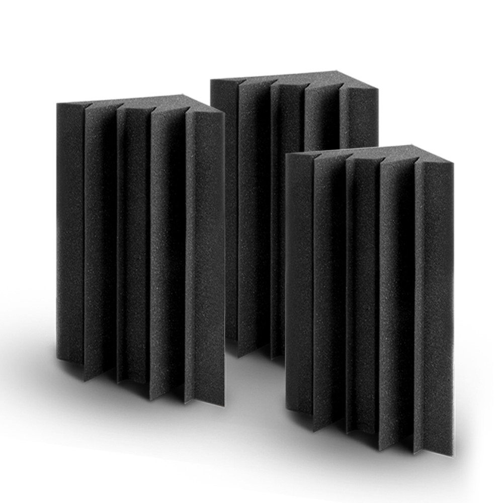 🥇 New 20pcs Studio Acoustic Foam Sound Absorption Proofing Panels Corner DIY ⭐+ Fast Free Shipping 🚀