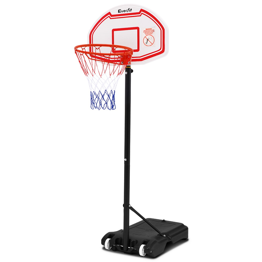 🥇 New Pro Portable Basketball Stand System Hoop Height Adjustable Net Ring ⭐+ Fast Free Shipping 🚀