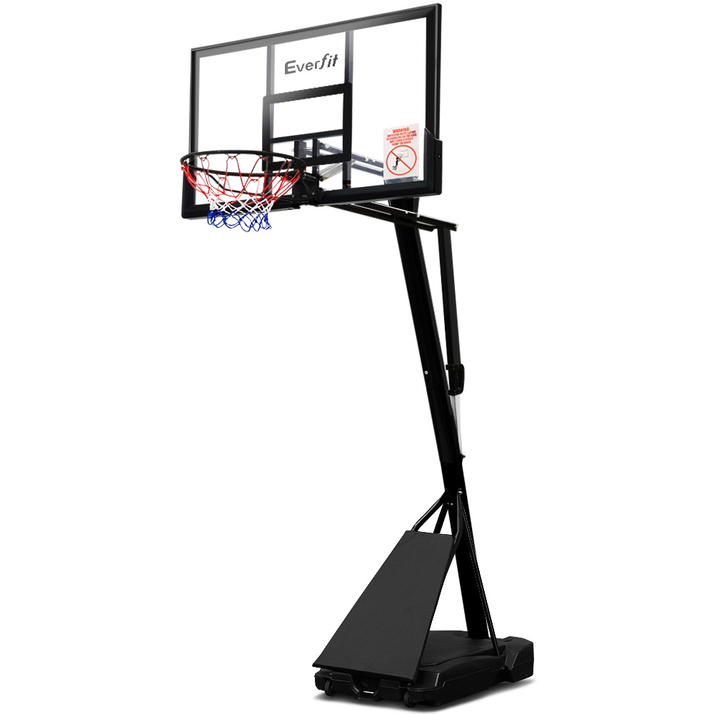 🥇 New Everfit Pro Portable Basketball Stand System Ring Hoop Net Height Adjustable 3.05M ⭐+ Fast Free Shipping 🚀