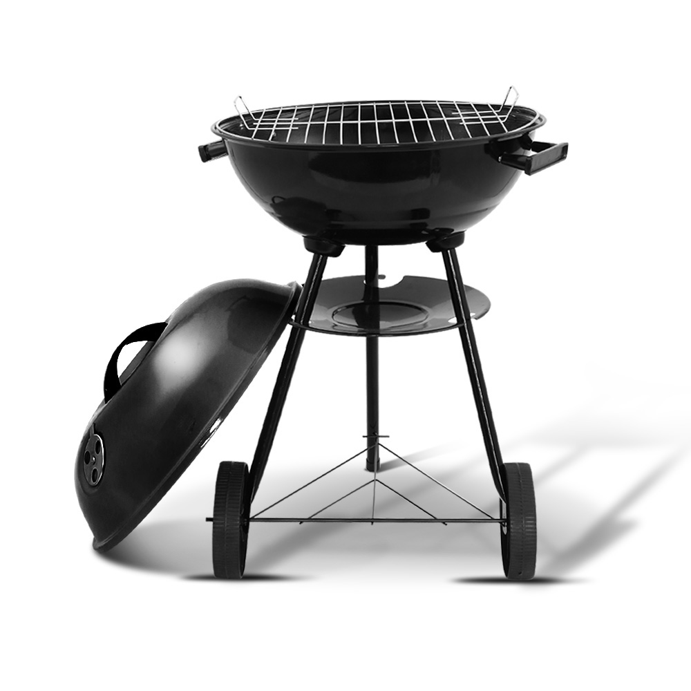 Brand New Grillz Charcoal BBQ Smoker Drill Outdoor Camping Patio Wood Barbeque Steel Oven Fast Free Shipping