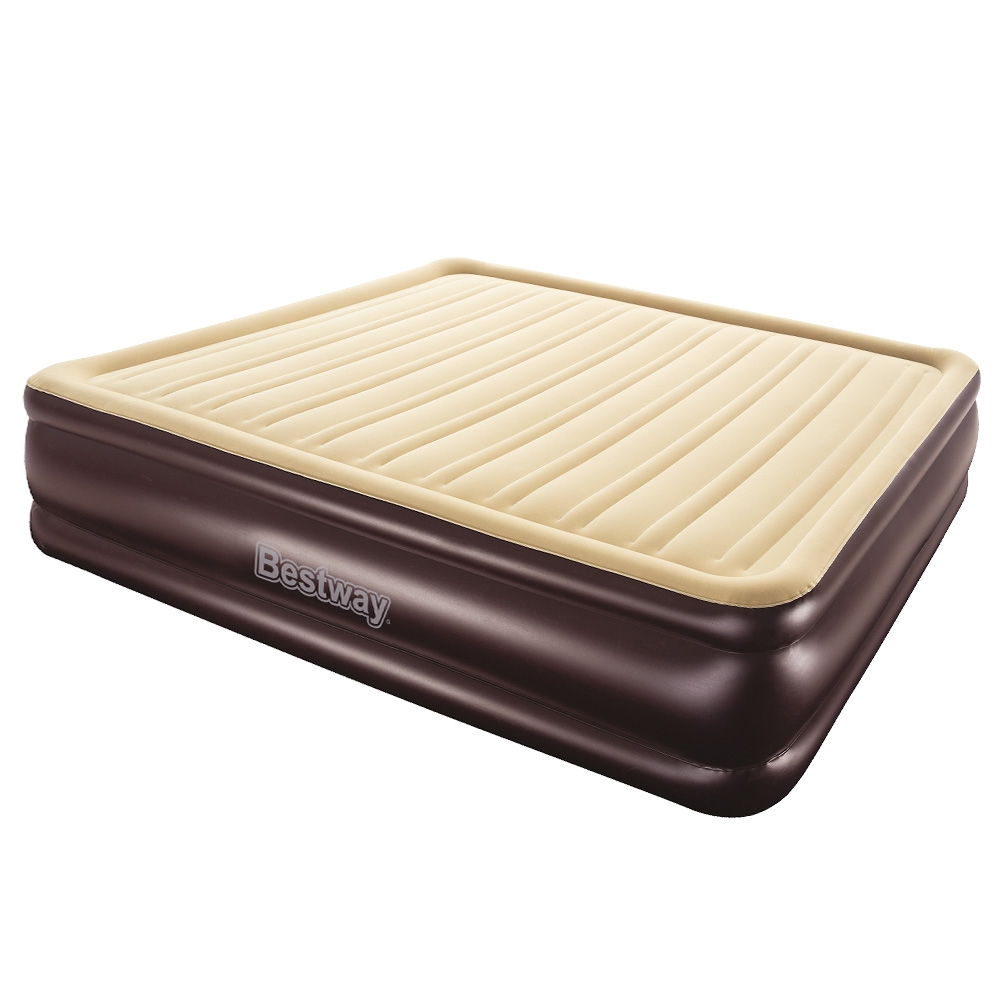 Bestway Queen Air Bed Inflatable Mattress Sleeping Mat Battery