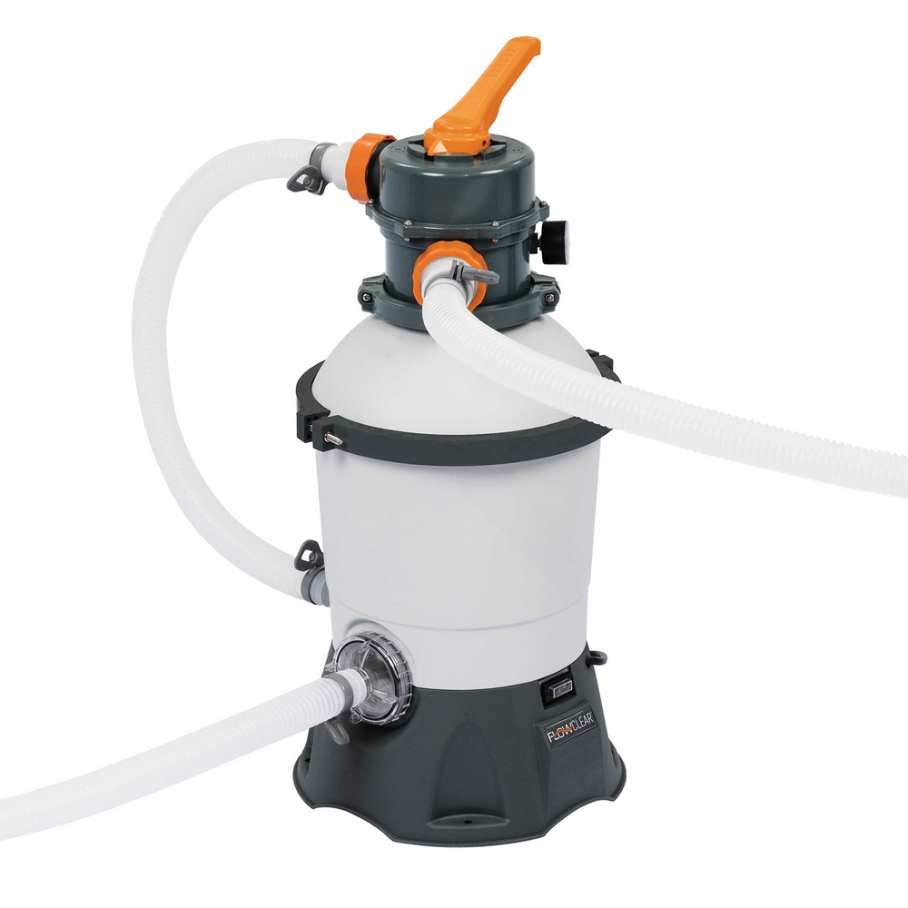 🥇 New Bestway 530GPH Flowclear™ Sand Filter Swimming Above Ground Pool Cleaning Pump ⭐+ Fast Free Shipping 🚀