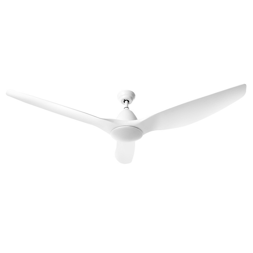 🥇 New 64″ DC Motor Ceiling Fan with LED Light with Remote 8H Timer Reverse Mode 5 Speeds White ⭐+ Fast Free Shipping 🚀