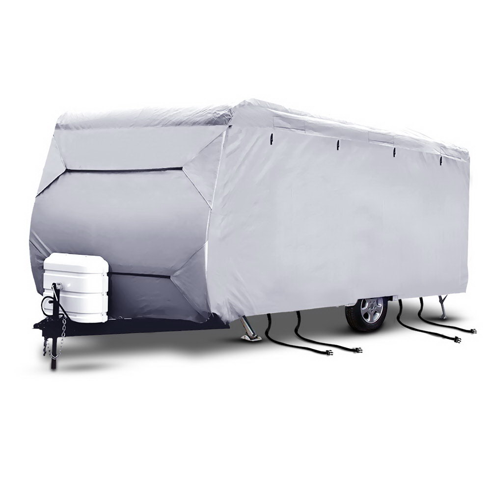New Weisshorn 16-18ft Caravan Cover Campervan 4 Layer UV Water Resistant + Fast Free Shipping