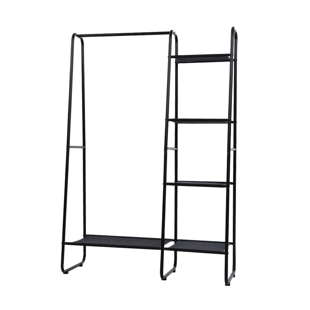 Brand New Portable Clothes Rack Garment Hanging Stand Closet Storage Organiser Shelf Home Fast Free Shipping