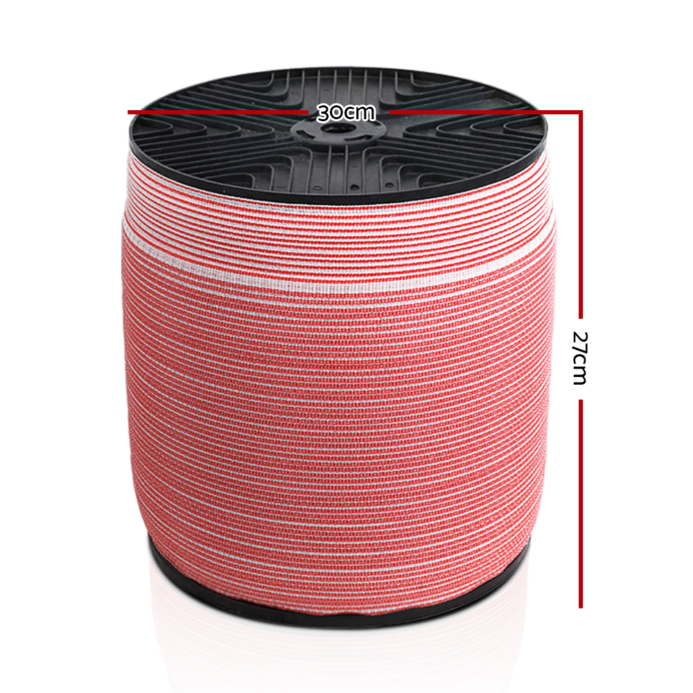 [Brand New] Giantz 1200M Electric Fence Wire Tape Poly Stainless Steel Temporary Fencing Kit Fast Free Shipping Australia Wide 2020