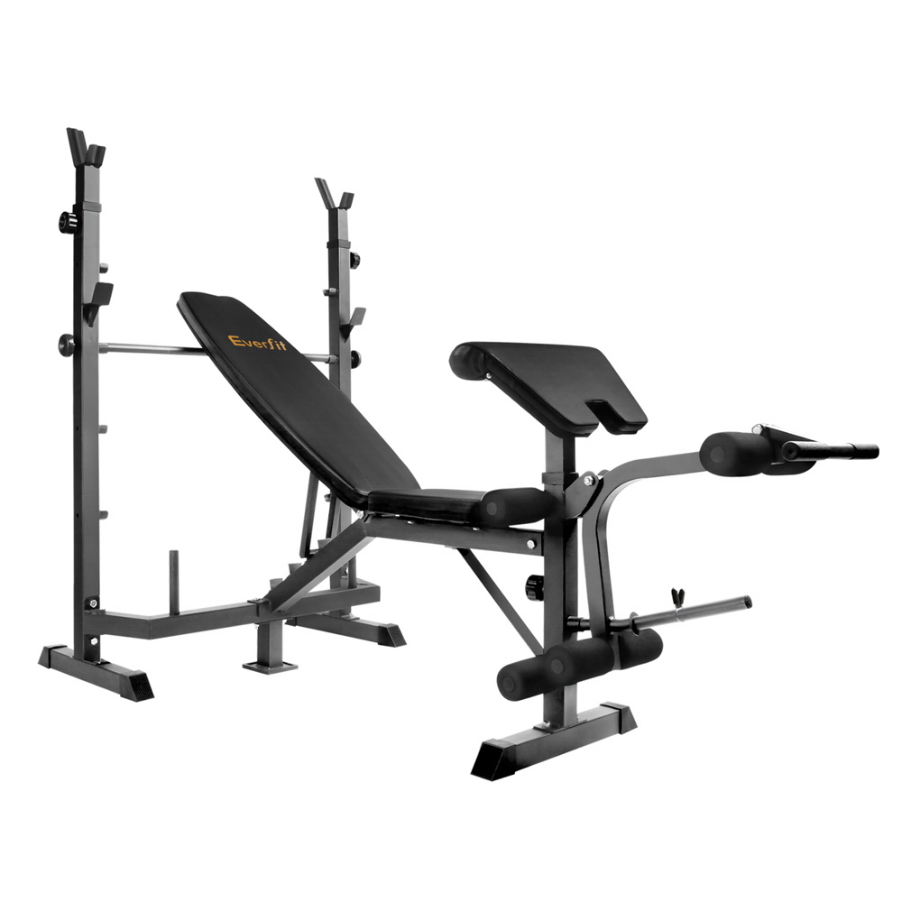 New Everfit 9-In-1 Weight Bench Multi-Function Power Station Fitness Gym Equipment + Fast Free Shipping