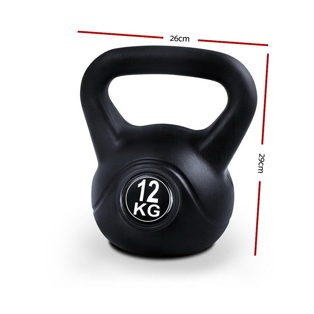 New Everfit Kettlebells Fitness Exercise Kit 12kg + Fast Free Shipping