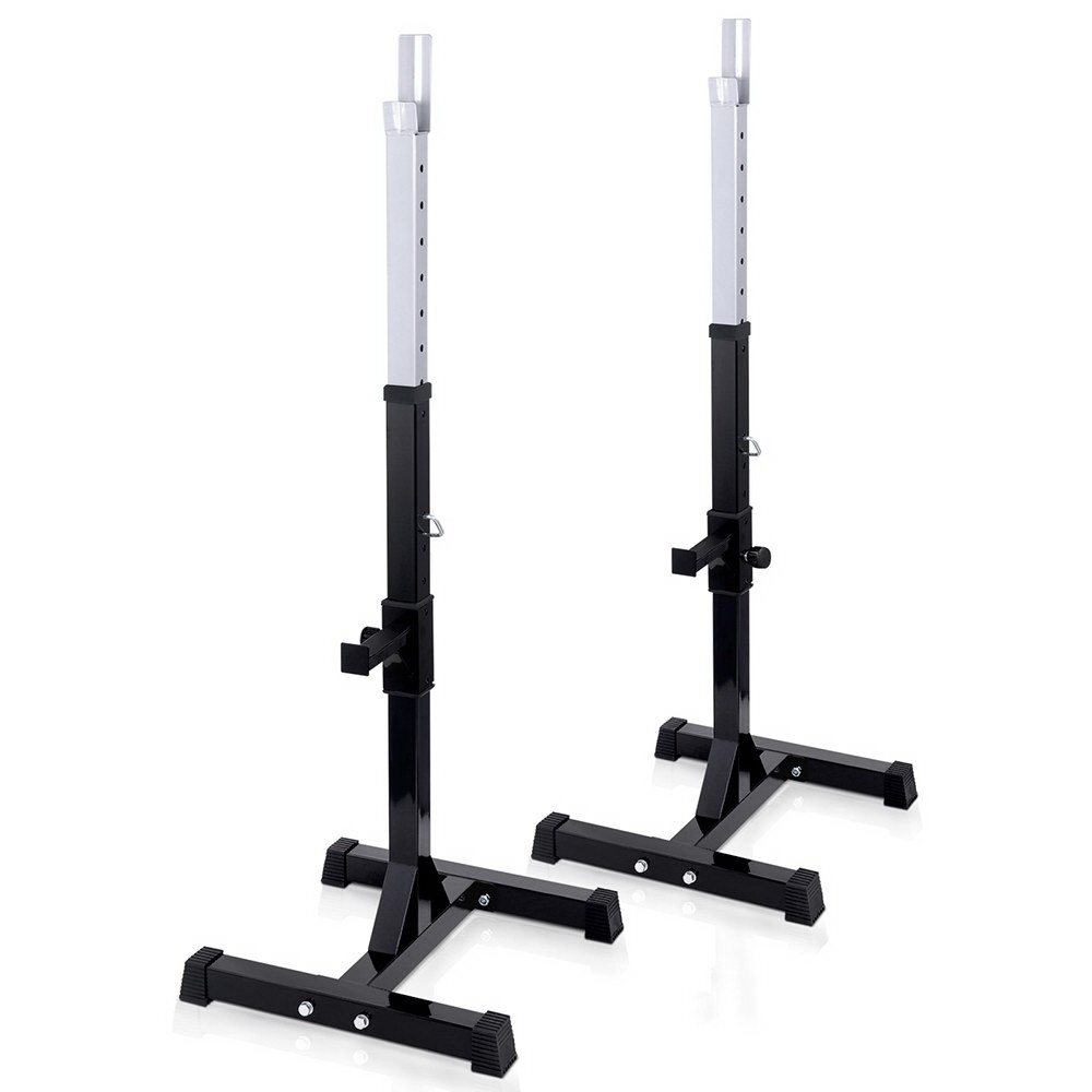 New Everfit Squat Rack Bench Press Weight Lifting Stand + Fast Free Shipping