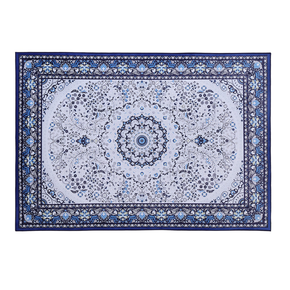 Brand New Artiss Floor Rugs Rug 200 x 290 Area Large Modern Carpet Soft Blue Living Room Fast Free Shipping