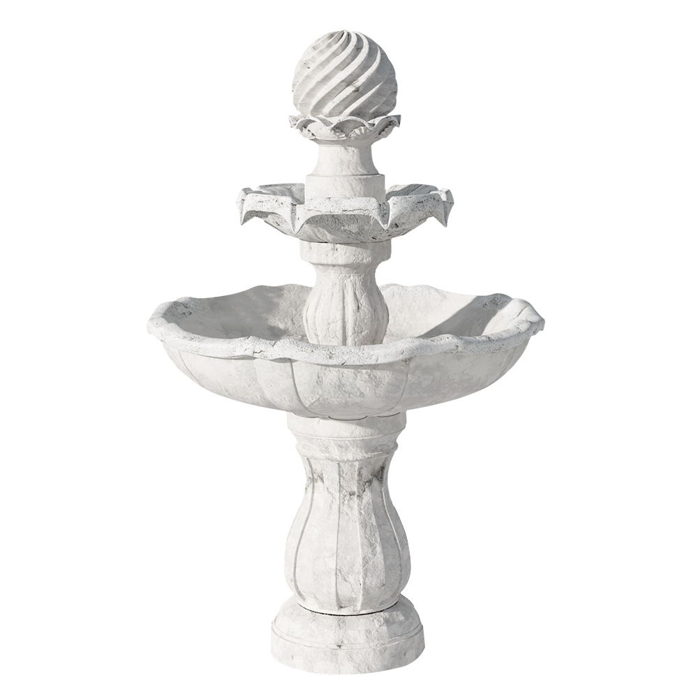 Brand New Gardeon 3 Tier Solar Powered Water Fountain – Ivory Fast Free Shipping