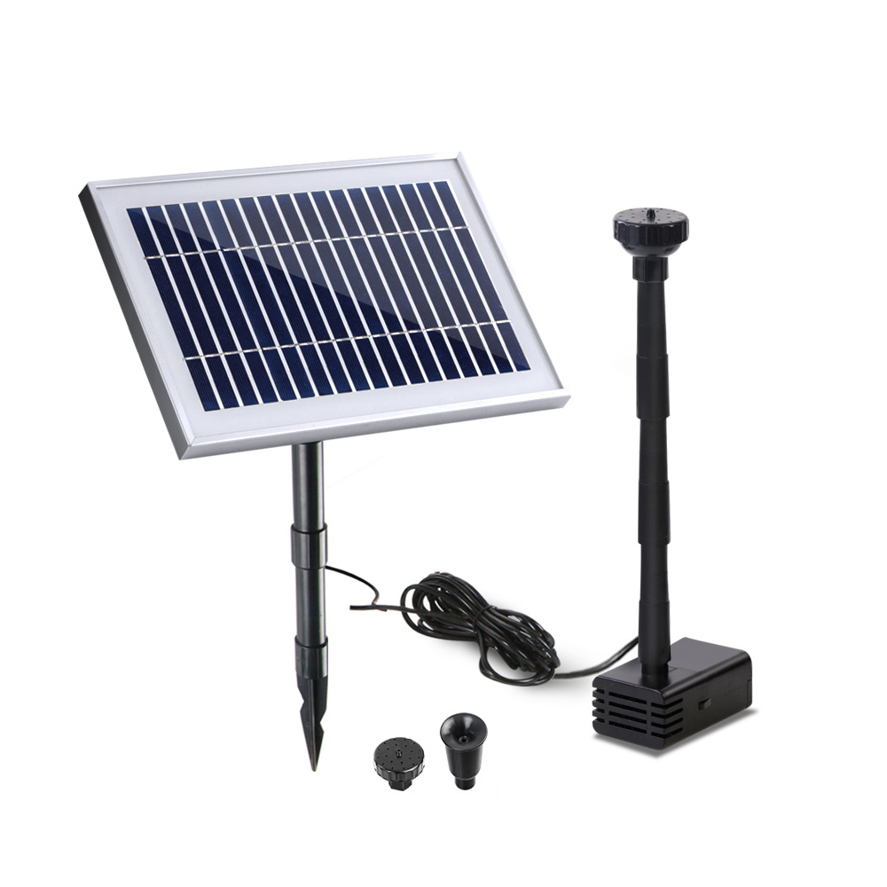 Brand New Gardeon 25W Solar Powered Water Pond Pump Outdoor Submersible Fountains Fast Free Shipping