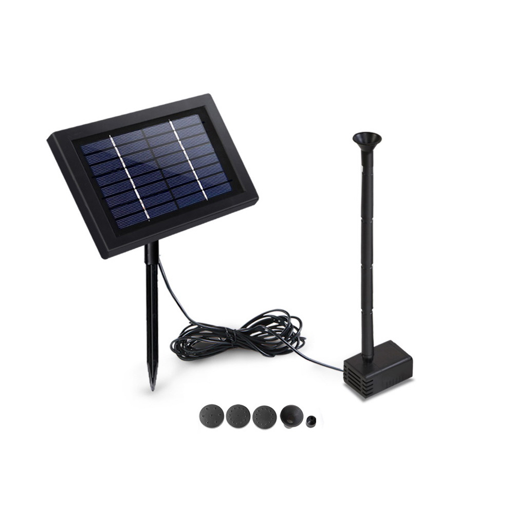 🥇 New Gardeon 8W Solar Powered Water Pond Pump Outdoor Submersible Fountains ⭐+ Fast Free Shipping 🚀