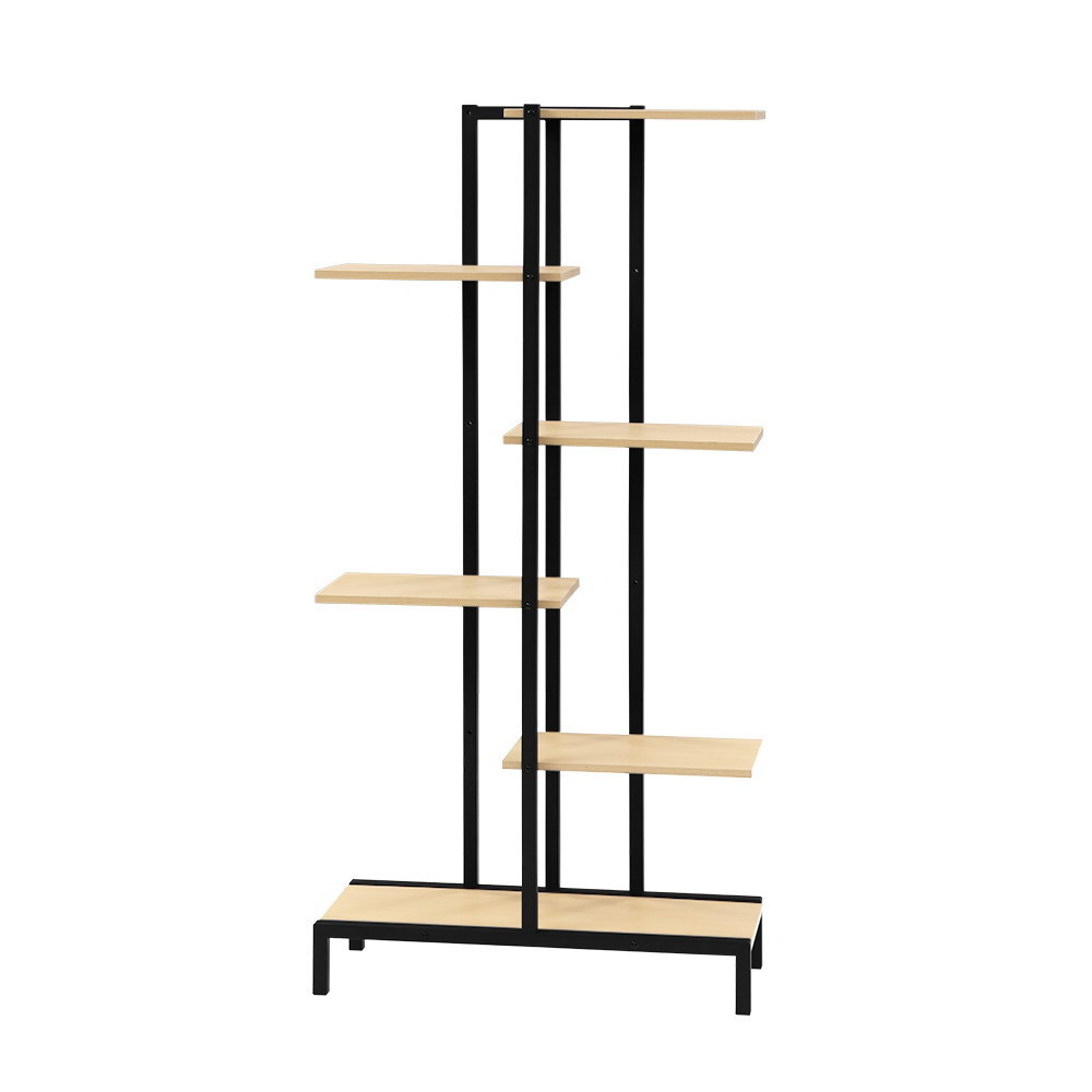 Multi-tier Indoor Outdoor Metal Wooden Plant Stands Garden Shelf Garden Display