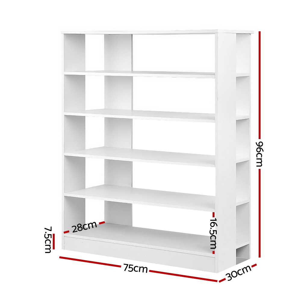 🥇 New Artiss 6-Tier Shoe Rack Cabinet – White ⭐+ Fast Free Shipping 🚀