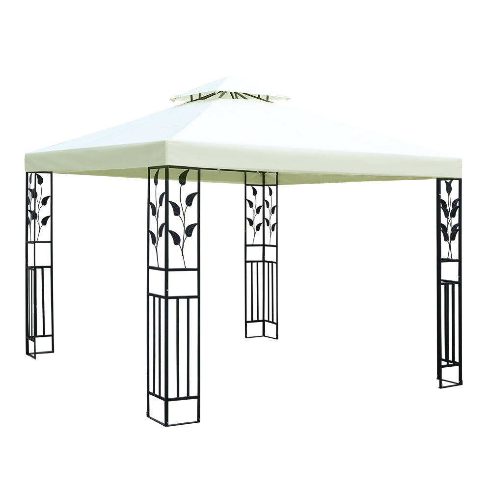[Brand New] Instahut Gazebo 3x3m Marquee Outdoor Party Wedding Gazebos Tent Iron Art Fast Free Shipping Australia Wide 2020