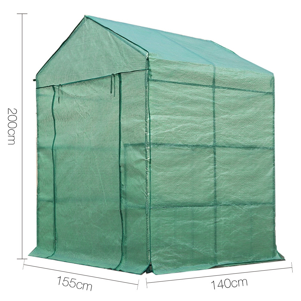 [Brand New] Greenfingers Greenhouse Green House Tunnel 2MX1.55M Garden Shed Storage Plant Fast Free Shipping Australia Wide 2020