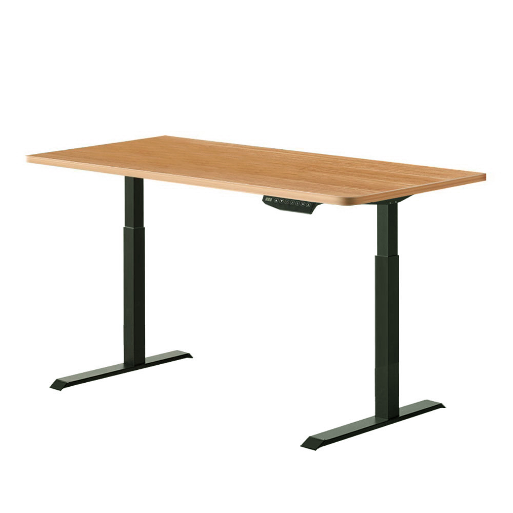 Artiss Standing Desk Sit Stand Motorised Electric Computer Laptop Table 120cm Dual Motor