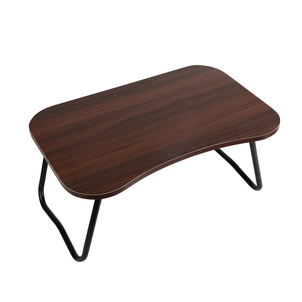 Artiss Laptop Desk Portable Tray Table Foldable Bed Tables Breakfast Overbed Dark Wood