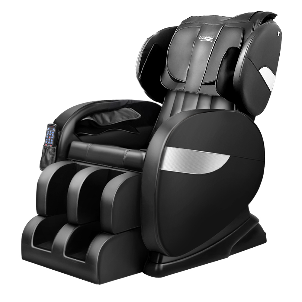 🥇 New Livemor Electric Massage Chair – Black ⭐+ Fast Free Shipping 🚀