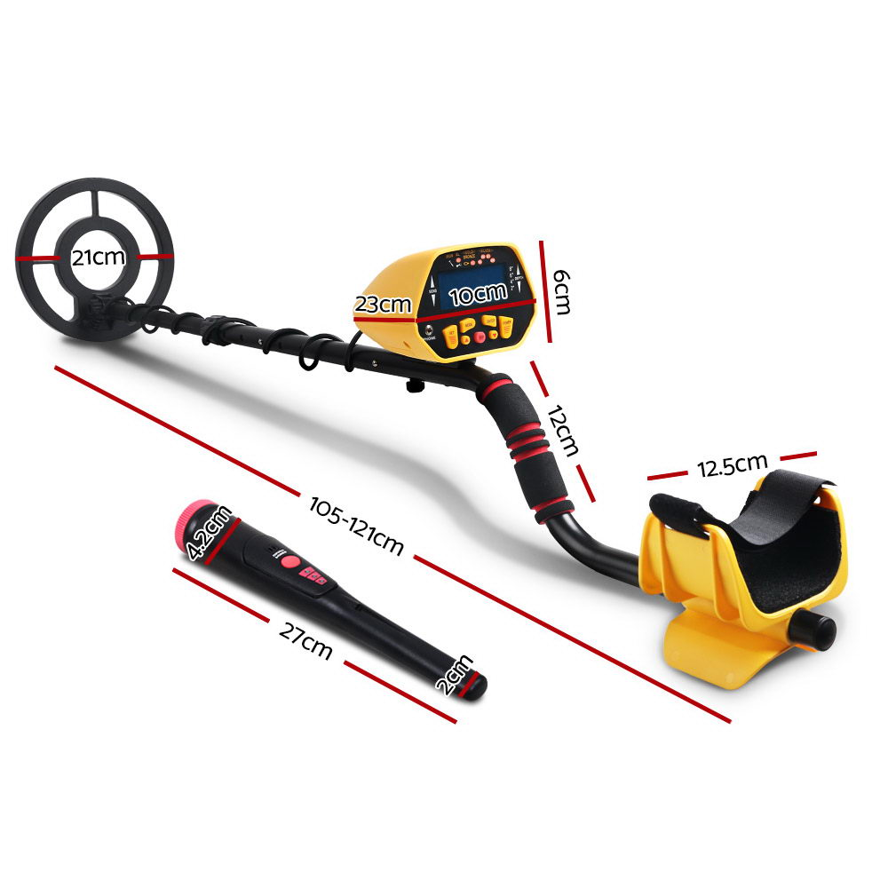 Brand New Metal Detector Pinpointer Deep Sensitive Searching Treasure Gold Hunt Digger 180MM Fast Free Shipping