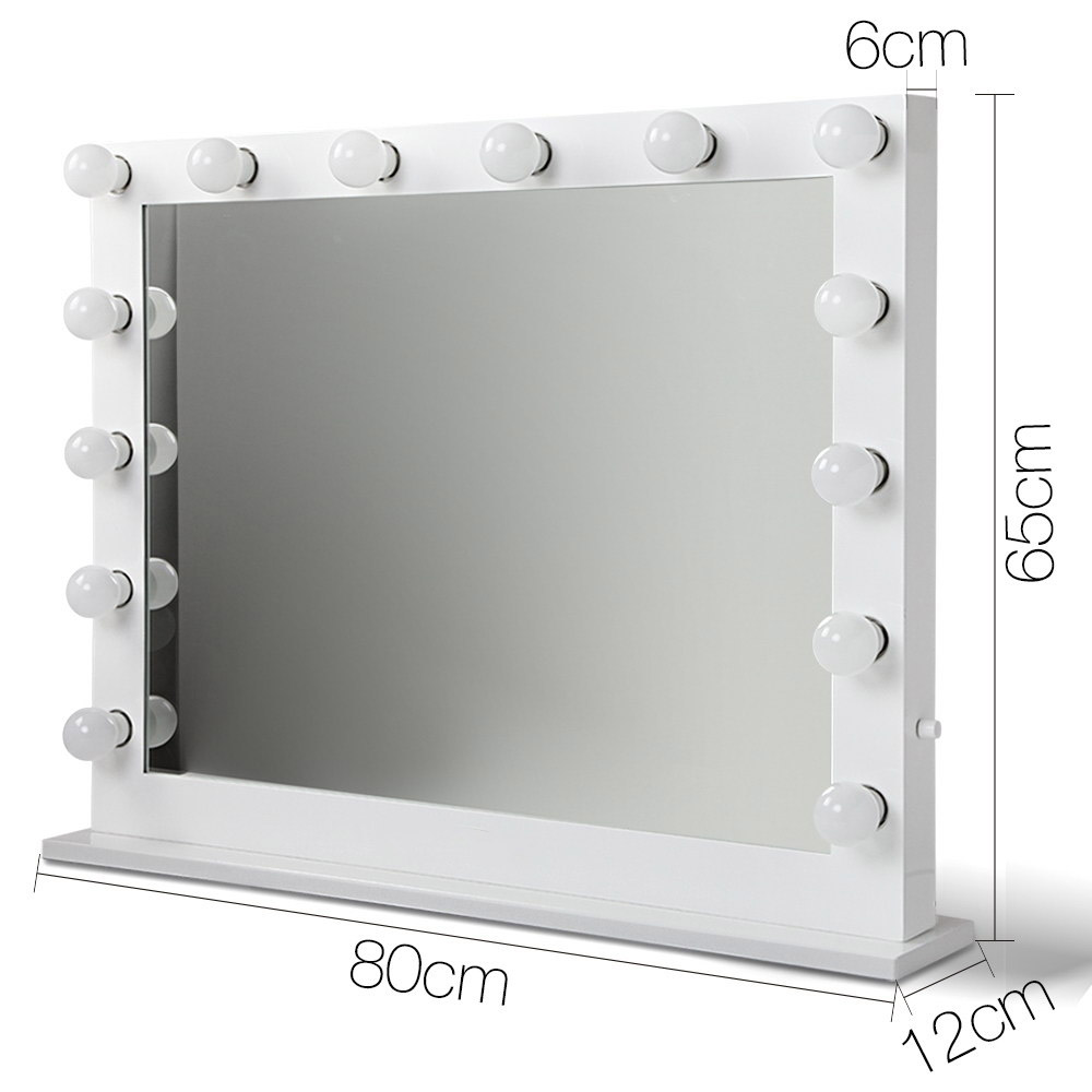 🥇 New Embellir Make Up Mirror with LED Lights – White ⭐+ Fast Free Shipping 🚀