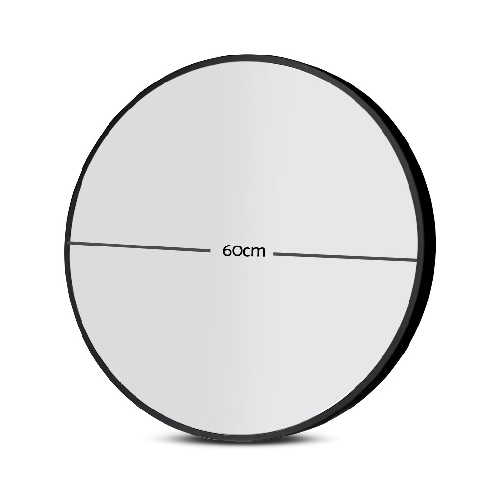 🥇 New 60cm Frameless Round Wall Mirror ⭐+ Fast Free Shipping 🚀