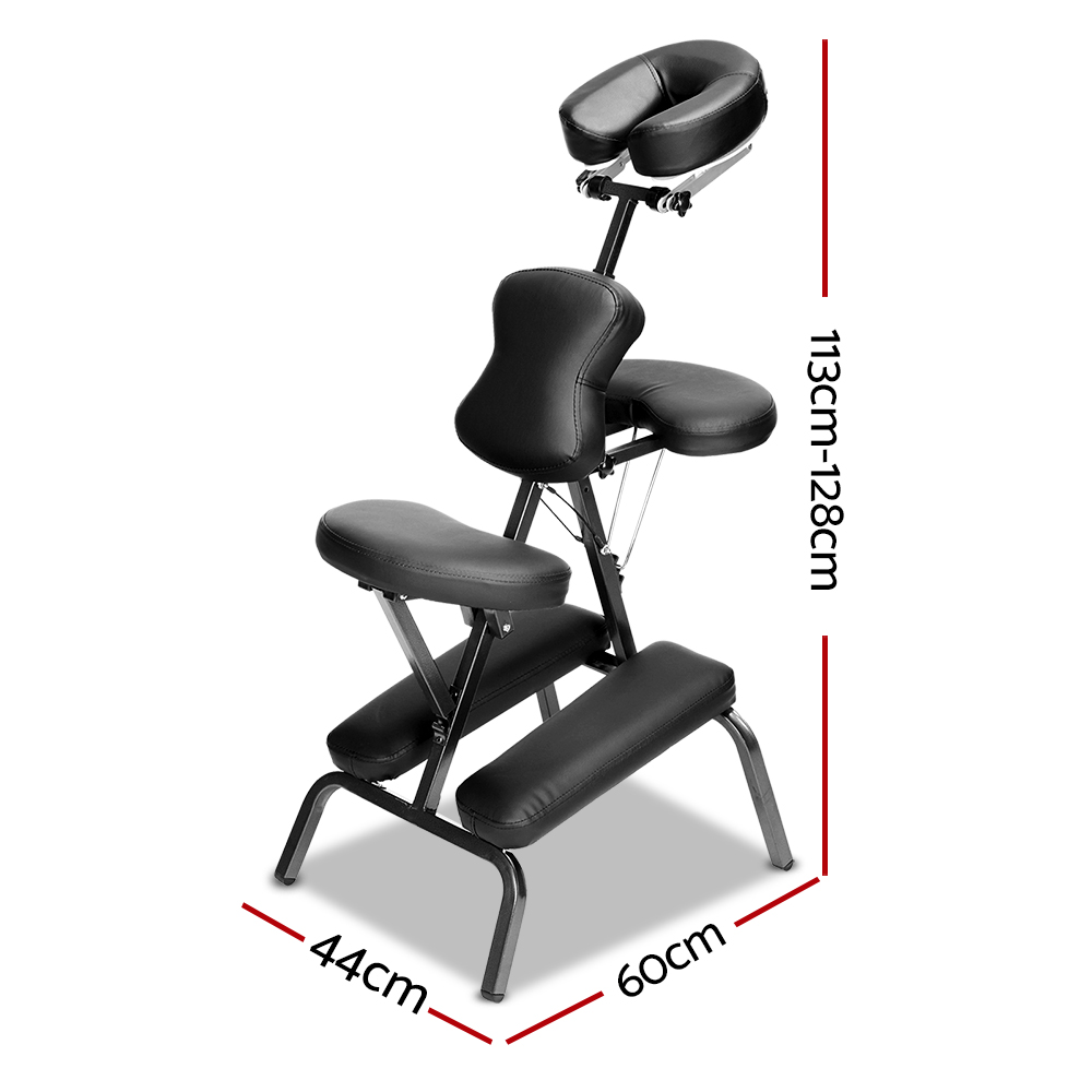 New Zenses Massage Chair Massage Table Aluminium Portable Beauty Therapy Bed Tattoo Waxing + Fast Free Shipping