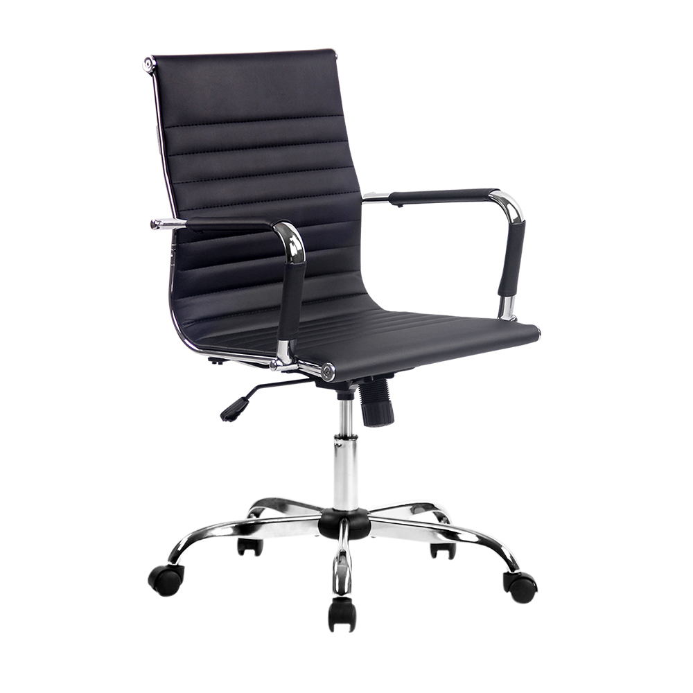 Artiss Gaming Office Chair Computer Desk Chairs Home Work Study Black Mid Back