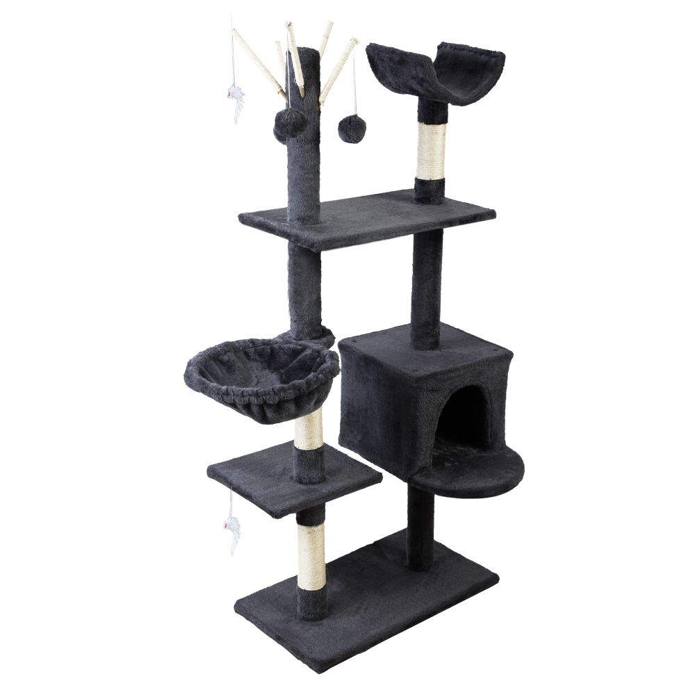 🥇 New i.Pet Cat Tree Trees Scratching Post Scratcher Toys Condo House Furniture Wood ⭐+ Fast Free Shipping 🚀