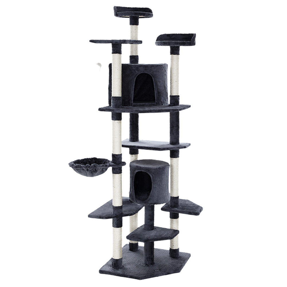 🥇 New i.Pet Cat Tree Trees Scratching Post Scratcher Tower Condo House Furniture Wood ⭐+ Fast Free Shipping 🚀