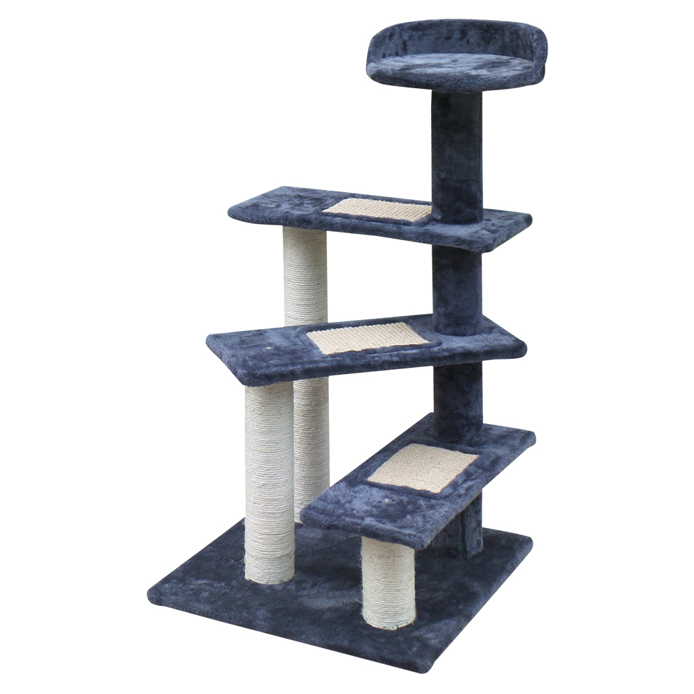 🥇 New i.Pet 100cm Multi Level Cat Scratching Tree – Grey ⭐+ Fast Free Shipping 🚀