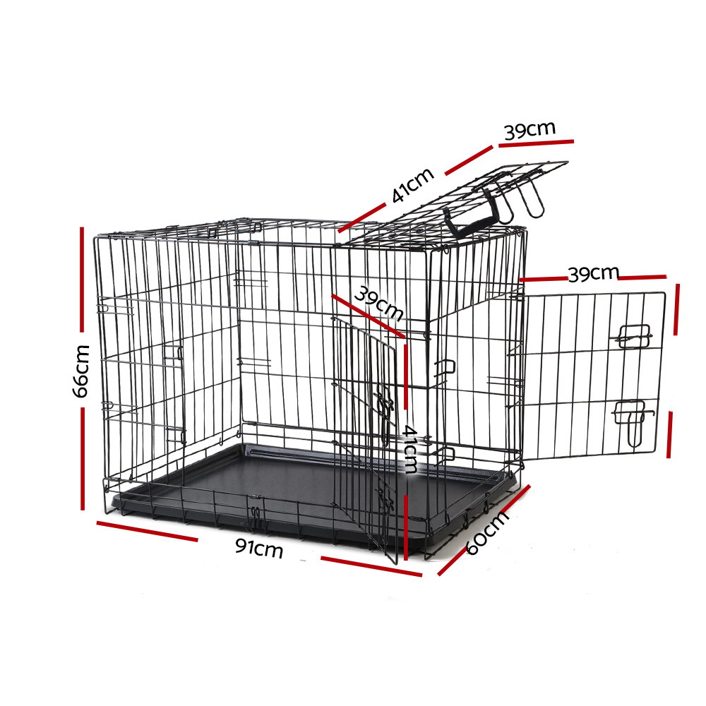 🥇 New i.Pet 36inch Pet Cage – Black ⭐+ Fast Free Shipping 🚀