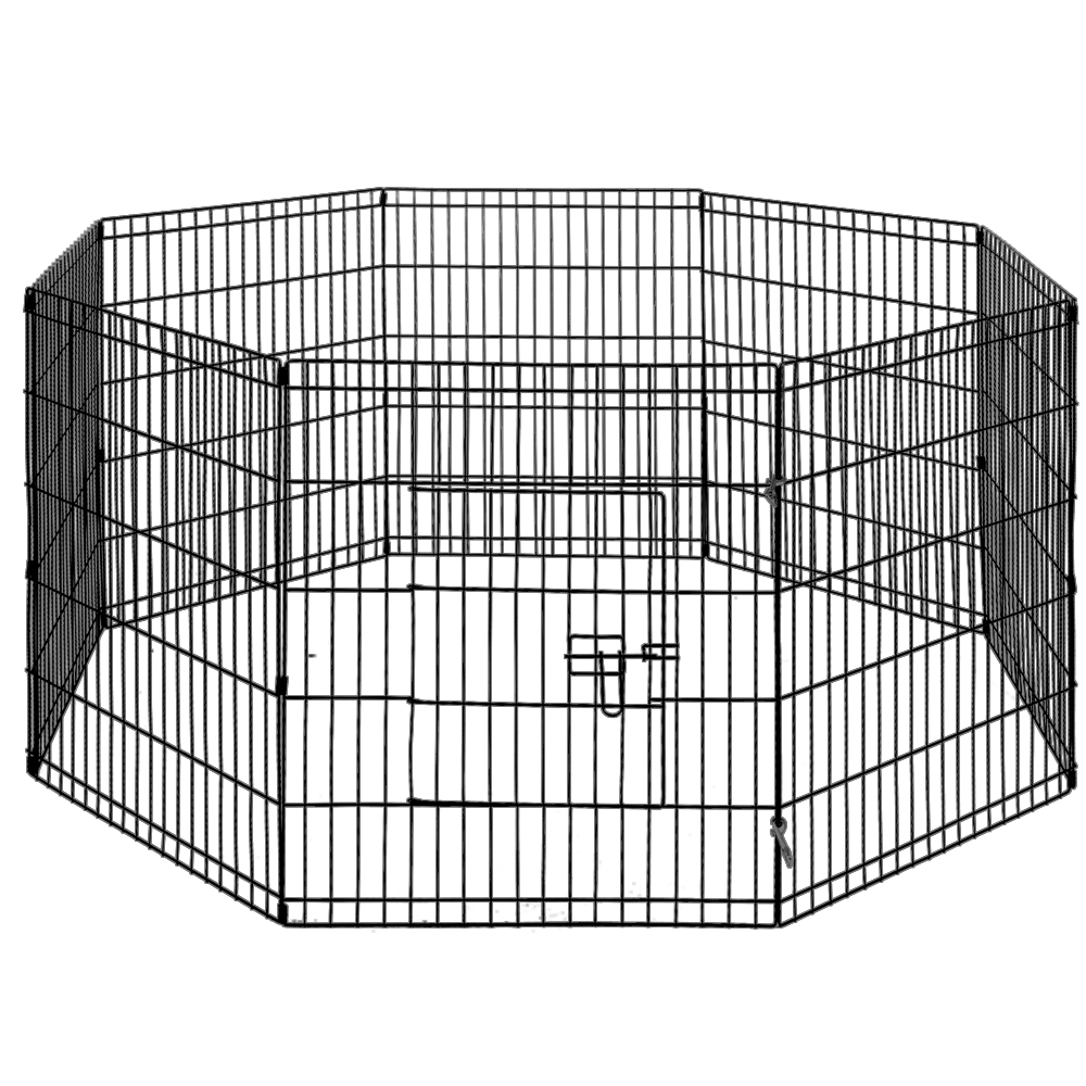 New i.Pet 30″ 8 Panel Pet Dog Playpen Puppy Exercise Cage Enclosure Play Pen Fence + Fast Free Shipping