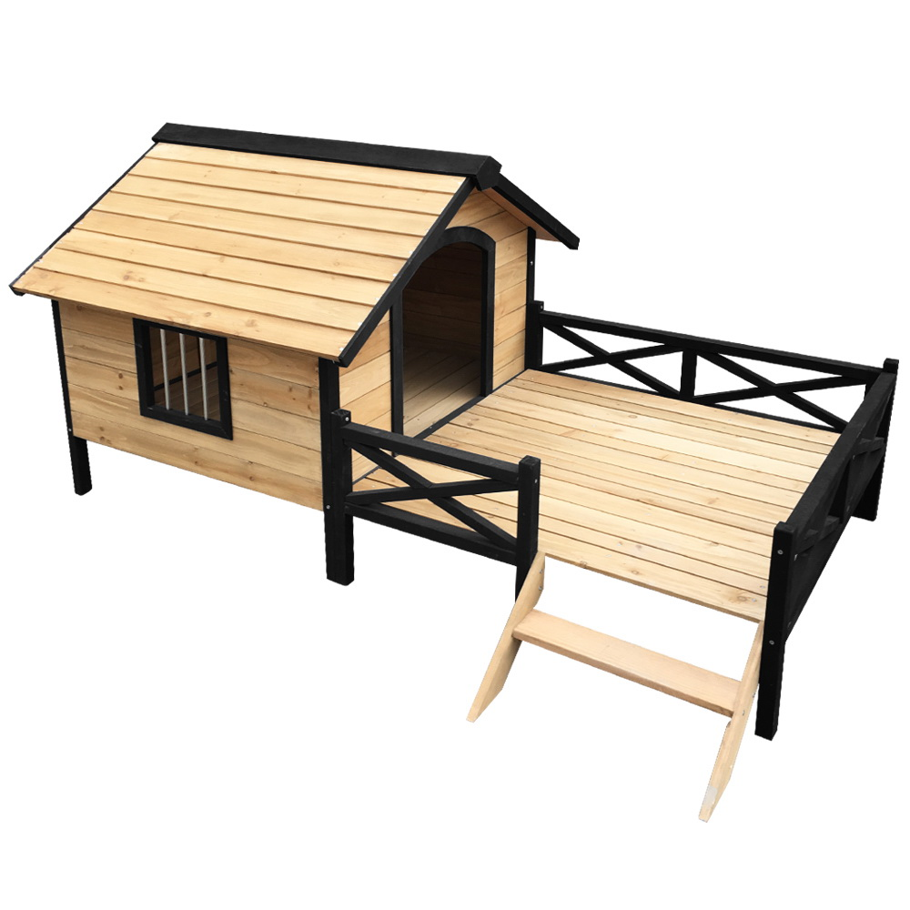 🥇 New i.Pet Dog Kennel Kennels Outdoor Wooden Pet House Puppy Extra Large XXL Outside ⭐+ Fast Free Shipping 🚀