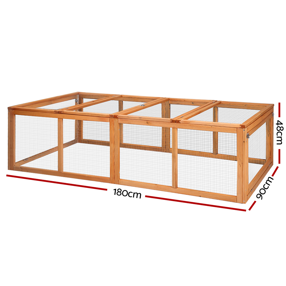 🥇 New i.Pet Rabbit Hutch Chicken Coop ⭐+ Fast Free Shipping 🚀