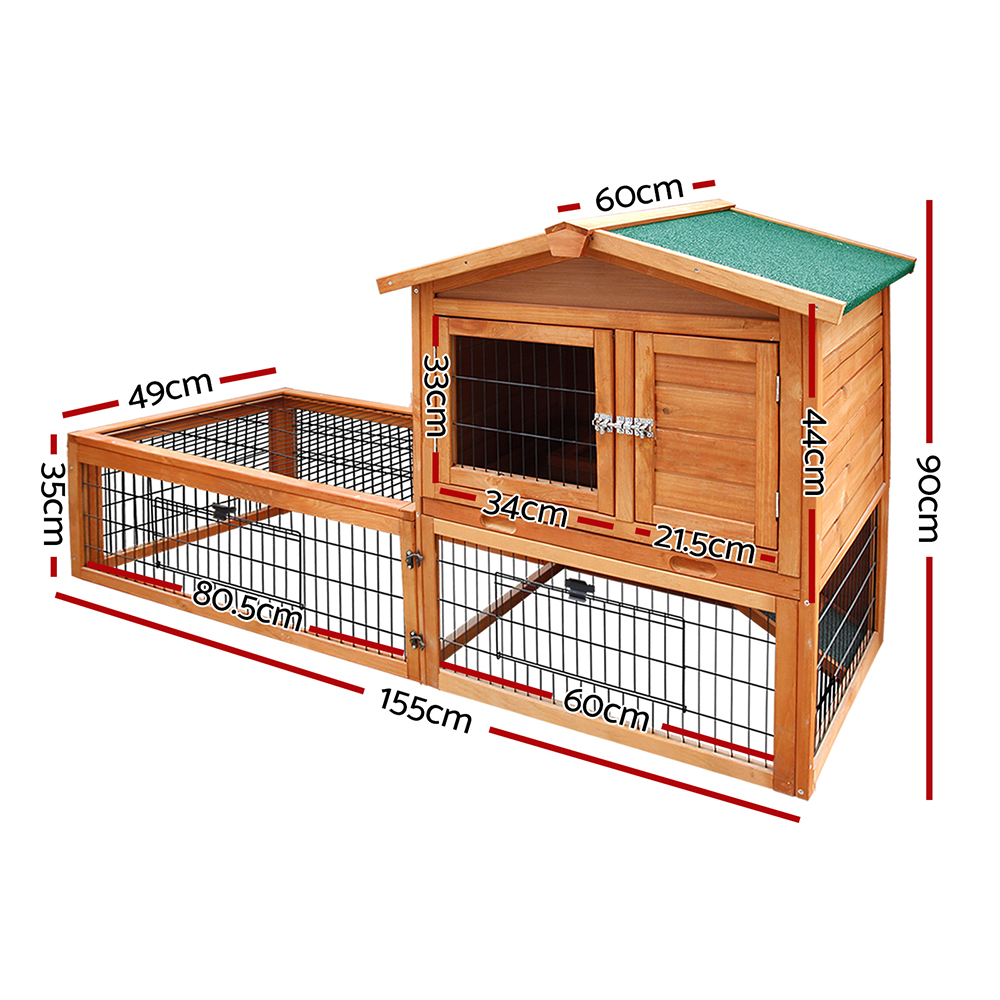 🥇 New i.Pet 155cm Tall Wooden Pet Coop ⭐+ Fast Free Shipping 🚀