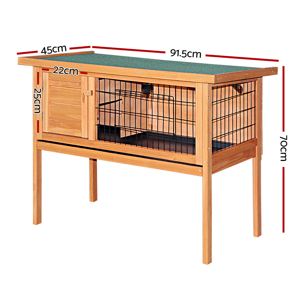 🥇 New i.Pet 70cm Tall Wooden Pet Coop with Slide out Tray ⭐+ Fast Free Shipping 🚀