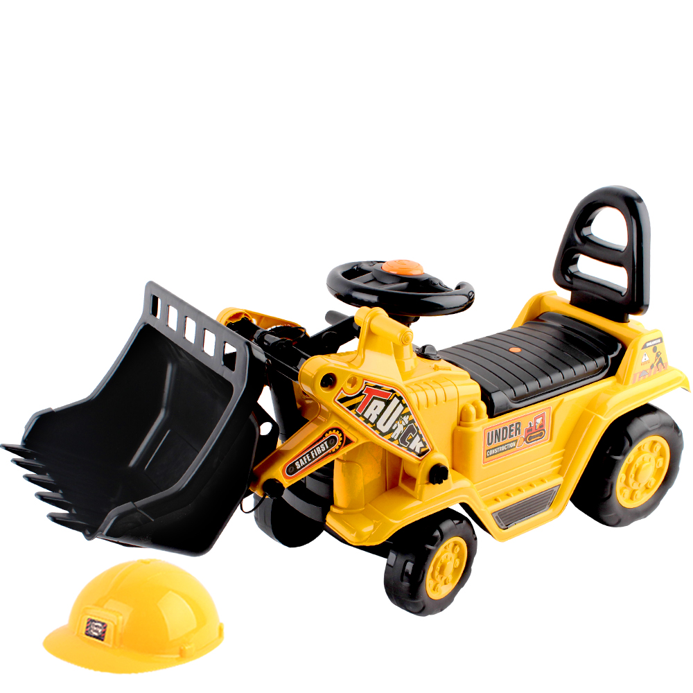 Brand New Keezi Kids Ride On Bulldozer – Yellow Fast Free Shipping