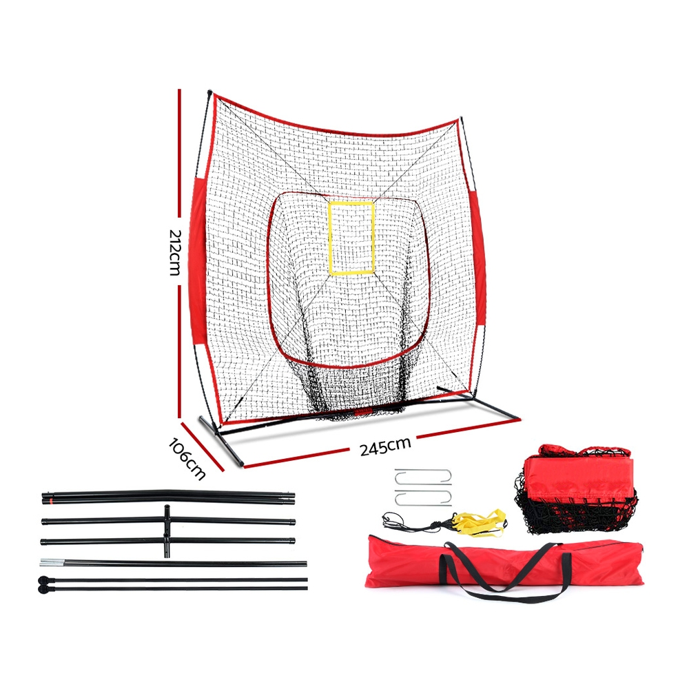 Brand New Everfit Portable Baseball Training Net Stand Softball Practice Sports Tennis Fast Free Shipping