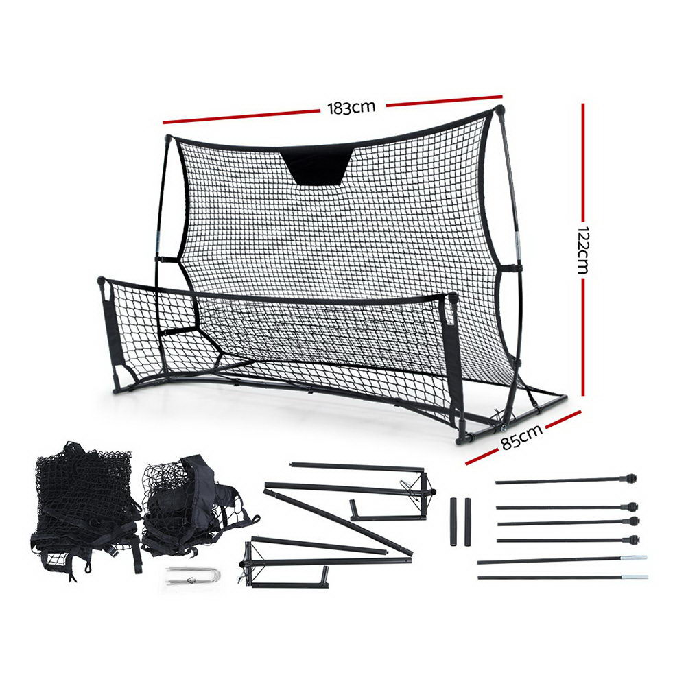 [Brand New] Everfit Portable Soccer Rebounder Net Volley Training Football Goal Pass Trainer Fast Free Shipping Australia Wide 2020