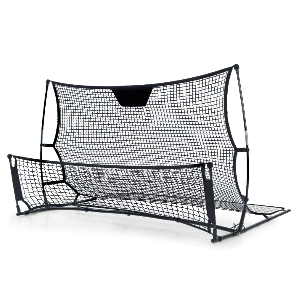 Brand New Everfit Portable Soccer Rebounder Net Volley Training Football Goal Trainer XL Fast Free Shipping