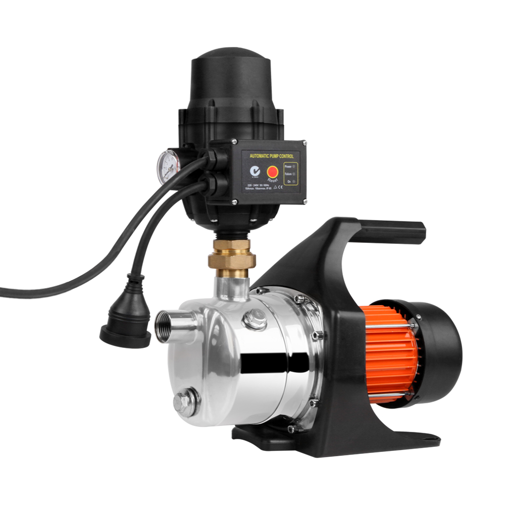 Giantz 1500W High Pressure Garden Water Pump with Auto Controller