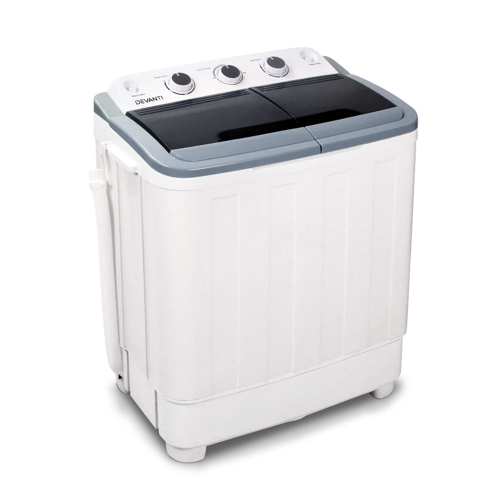 Brand New Devanti 5KG Mini Portable Washing Machine – White Fast Free Shipping