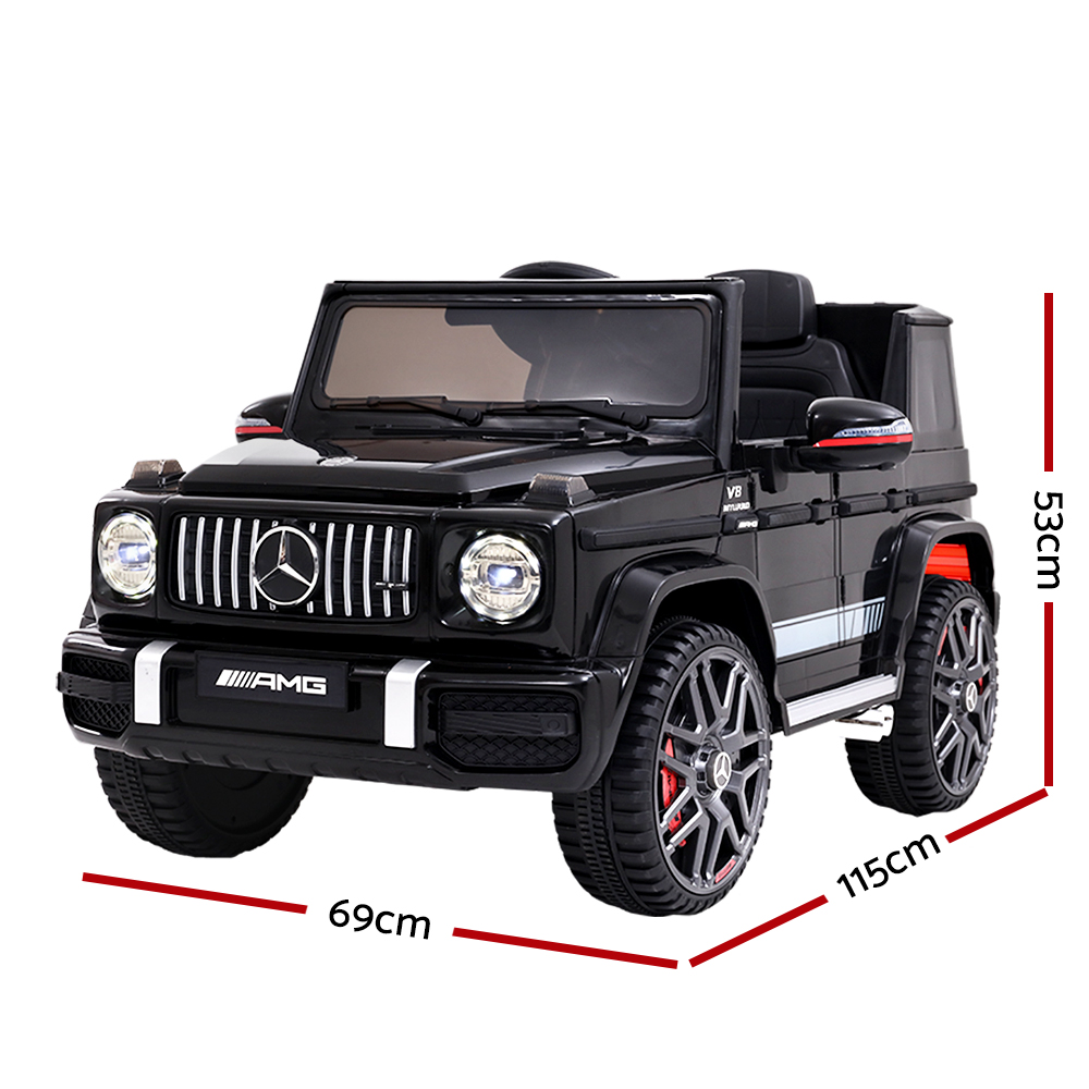 🥇 New Mercedes-Benz Kids Ride On Car Electric AMG G63 Licensed Remote Cars 12V Black ⭐+ Fast Free Shipping 🚀