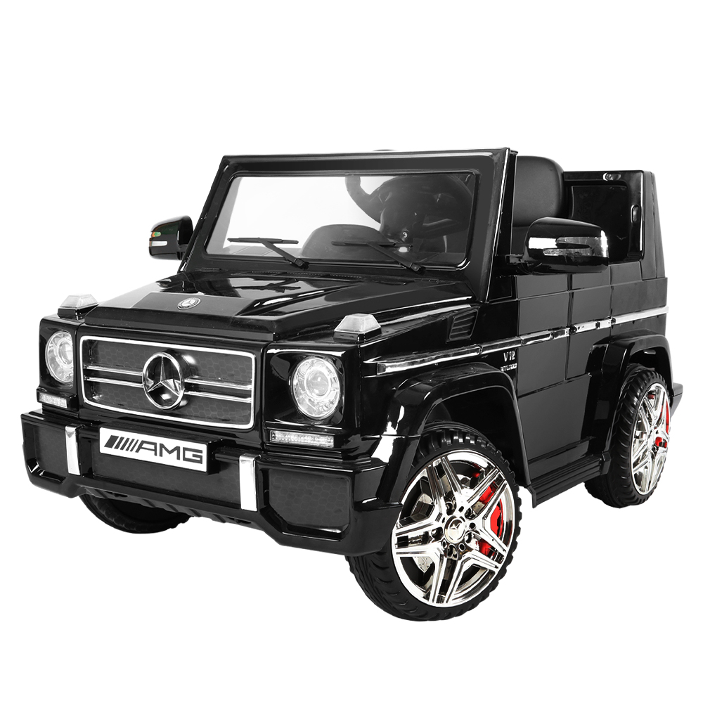 Brand New Kids Ride On Car MercedesBenz Licensed G65 12V Electric Black Fast Free Shipping