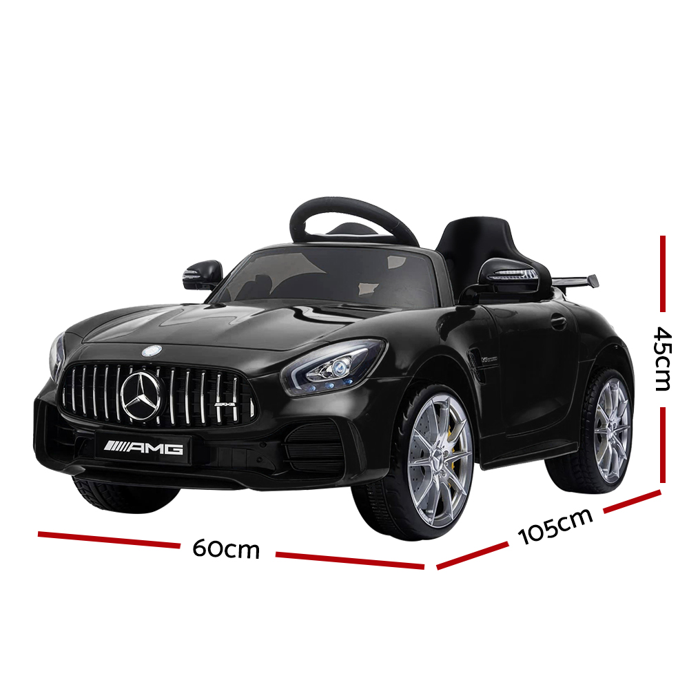 🥇 New Kids Ride On Car MercedesBenz AMG GT R Electric Black ⭐+ Fast Free Shipping 🚀