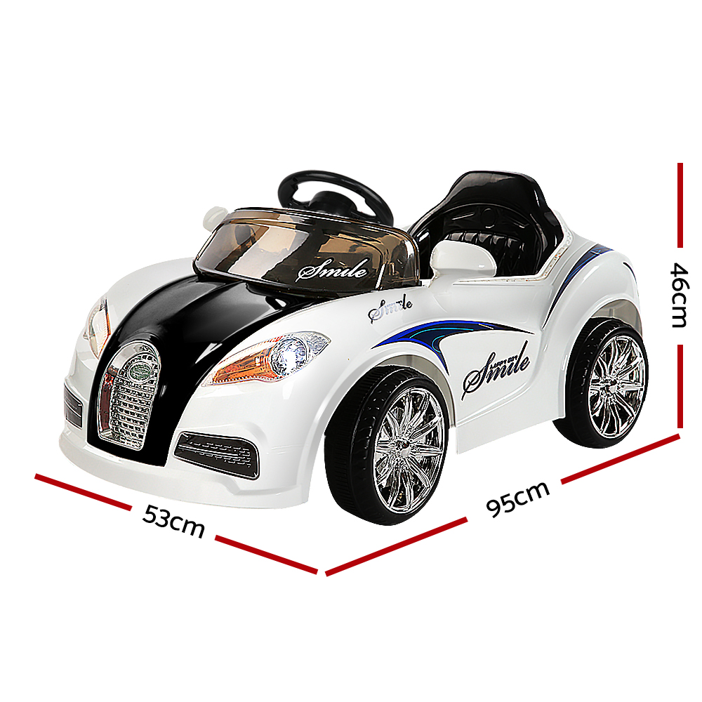 Brand New Rigo Kids Ride On Car – Black & White Fast Free Shipping